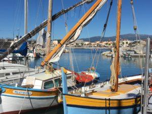 Le port du Cros de Cagnes accueillent encore aujourd'hui les barques traditionnelles